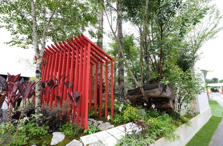 Kazuho Inohana and Yosuke Yamaguchi, Landscape and Fantasy gardens