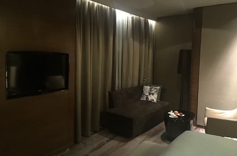 TV at renovated Luxury Room, Sofitel Nanjing Galaxy