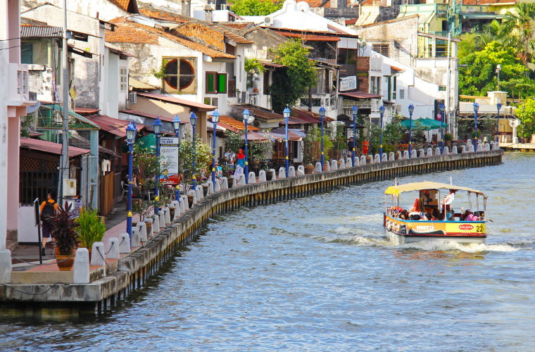 Malacca River, Malacca, Malaysia