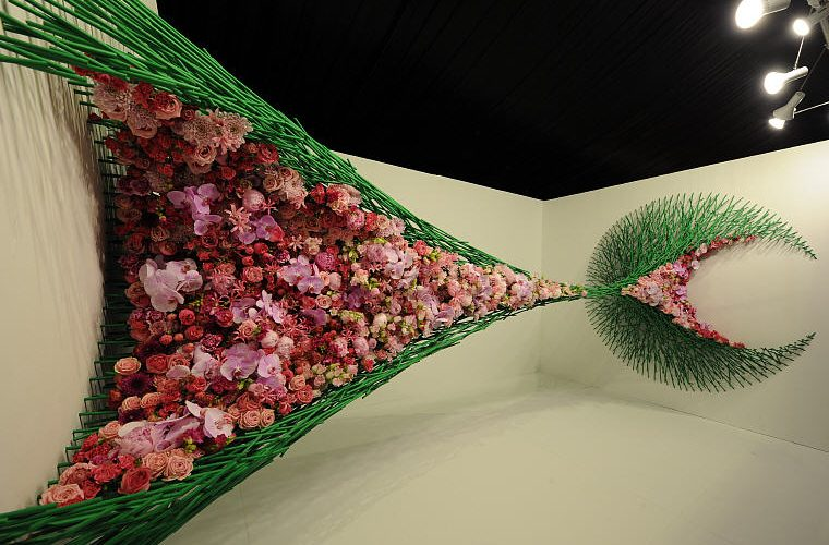 Natasha Lisitsa and Daniel Schultz, Floral Windows to the World