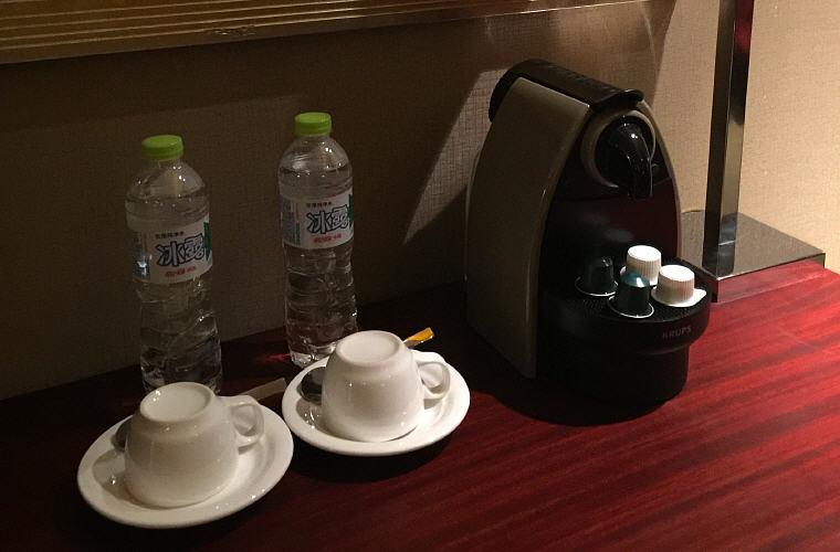 Nespresso machine, Sofitel Nanjing Galaxy Prestige Suite