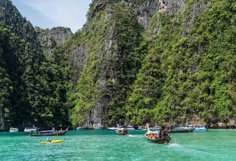 Phi Phi Island Tour, Phuket, Thailand