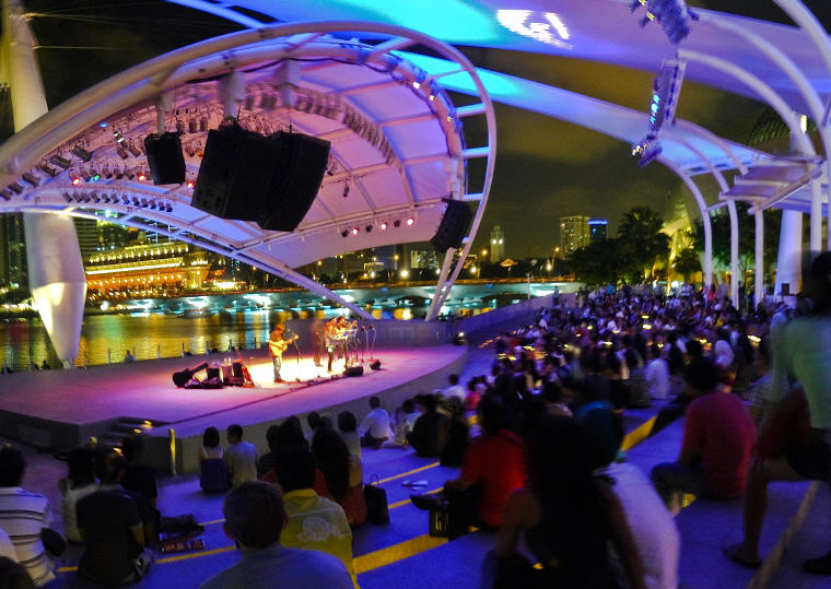 Concert at Esplanade - Theatres on the Bay