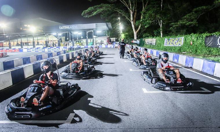 Karting at the Karting Arena