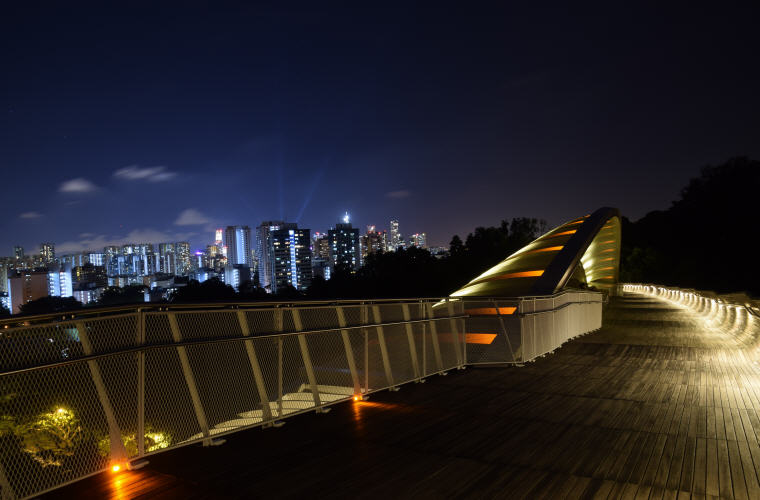 Night view, Henderson Waves