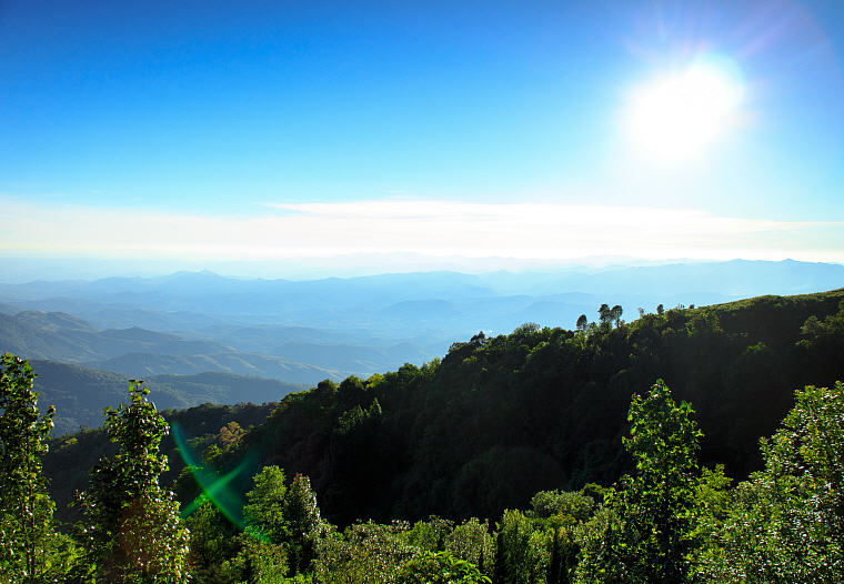 View from Doi Inthanon, Chiang Mai, Long weekend getaway destinations