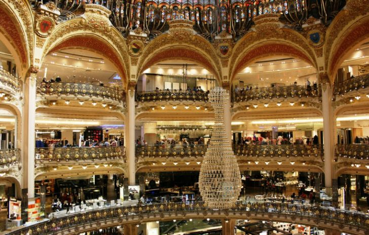 Galeries Lafayette, Photo credit: Alexandria