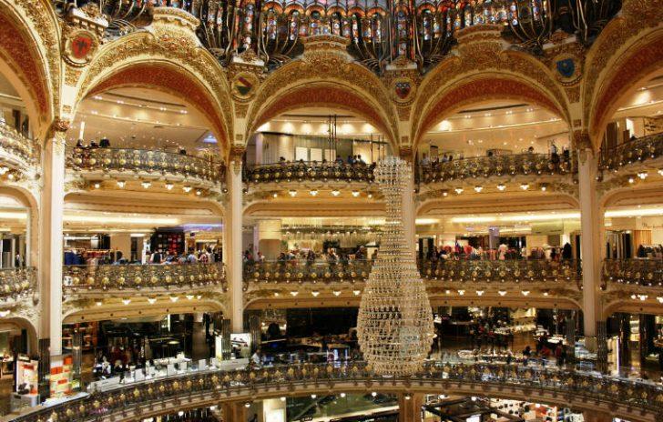 Galeries Lafayette, Photo credit: Alexandria
