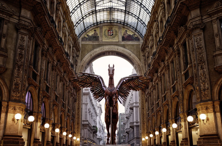 Galleria Vittorio Emanuele II, Milan, Italy, Photo credit: Igor Saveliev