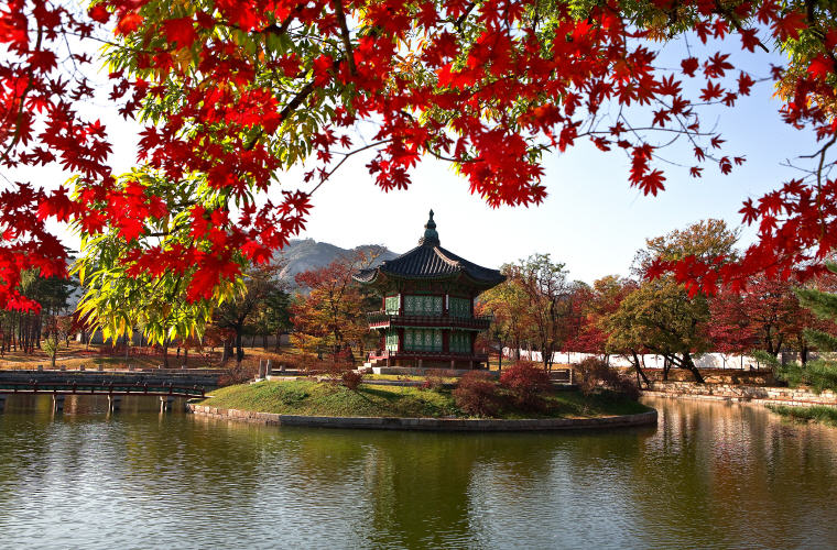 Gyeongbok Palace, Seoul, South Korea, Photo credit: 이룬 봉