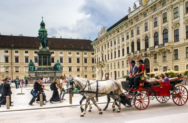 Hofburg Imperial Palace, Vienna, Austria, Photo credit: andreas N