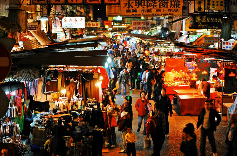 Night Market, Hong Kong, Cheap flights with Scoot, exclusive on Skyscanner