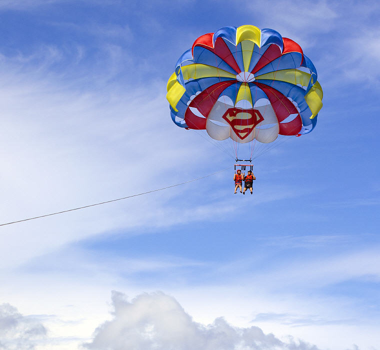 Parasailing, Boracay, 20 Best Islands in the World 2016