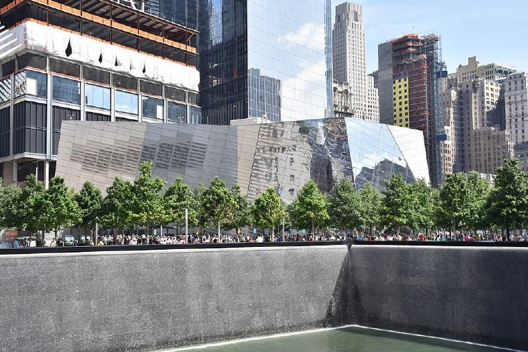 The National September 11 Memorial & Museum, New York City, Photo credit: MusikAnimal, Wikipedia