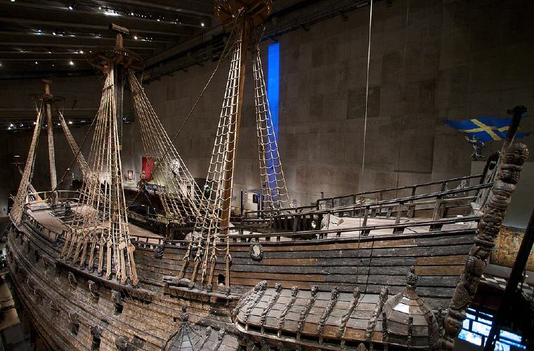 Vasa Museum, Stockholm, Sweden, Photo credit: OneHungLow
