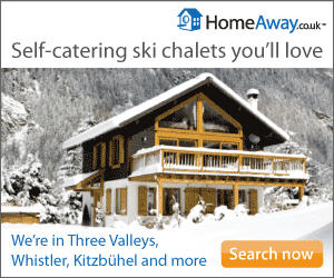 Self-catering ski chalets you'll love
