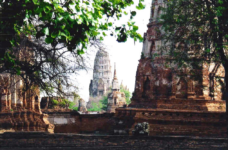 Ruins of the old city of Ayutthaya