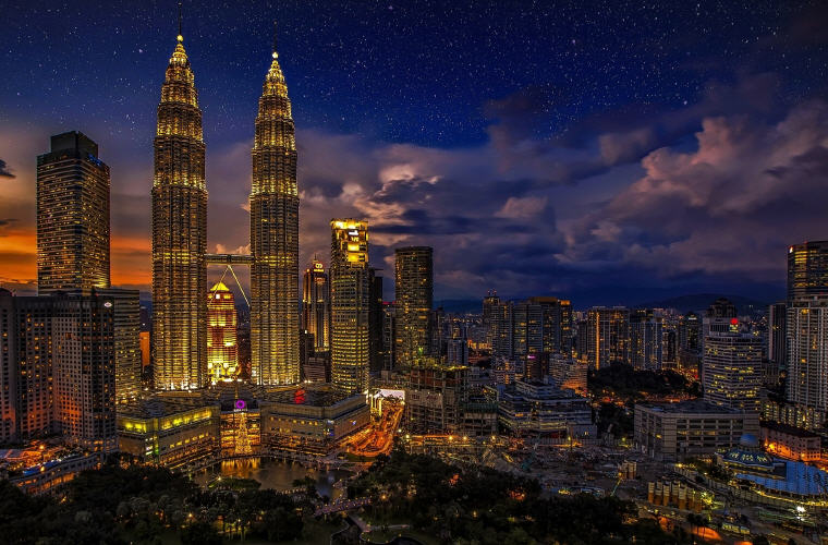 Kuala Lumpur, Malaysia, Most affordable points of entry to each continent