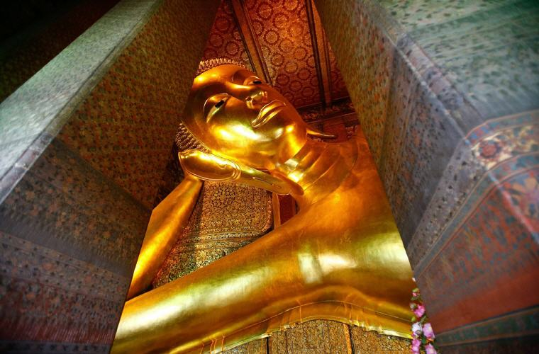 Reclining Buddha, Wat Pho, Bangkok, Top 10 International Travel Destinations for U.S. Travelers