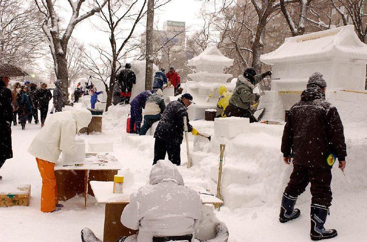 Sapporo Snow Festival, Welcome to Sapporo