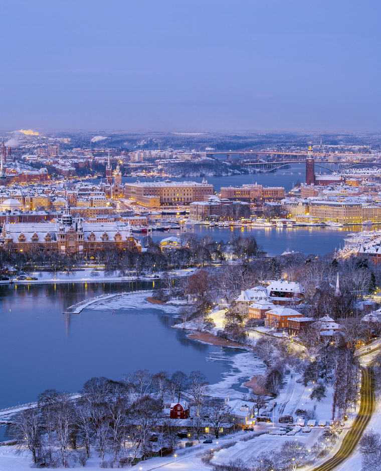 Winter in Stockholm by Ola Ericson