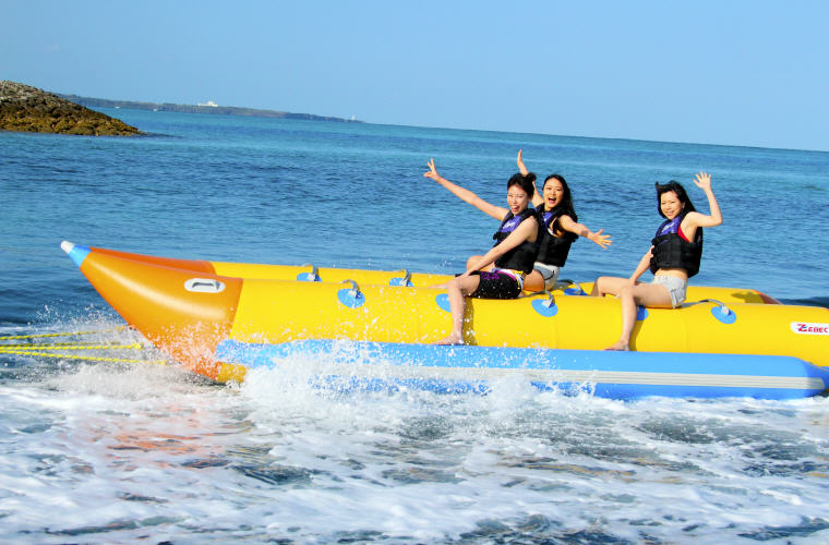 Banana Boat, Sea Activity