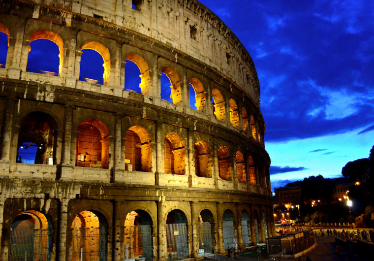 Colosseum in Rome, Italy, Top 10 International Travel Destinations for U.S. Travelers