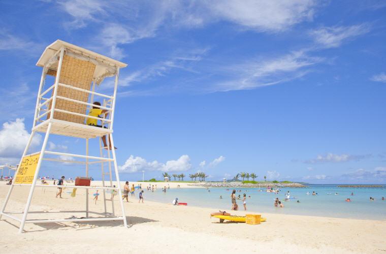 Emerald Beach within Ocean Expo Park, Okinawa