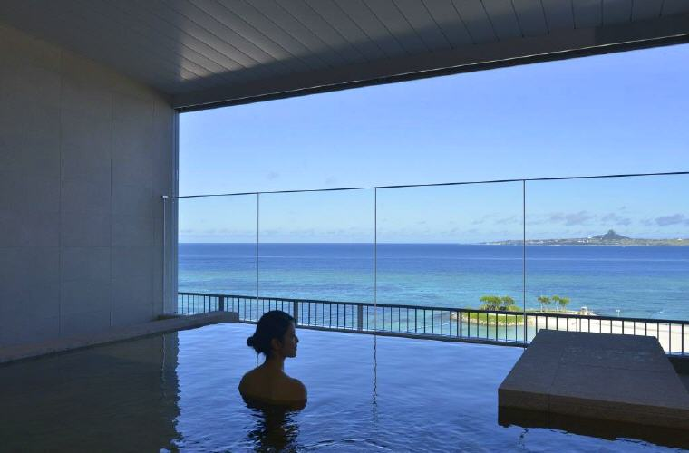 Hot Spring Bath, Hotel Orion Motobu Resort and Spa, top things to do in Okinawa