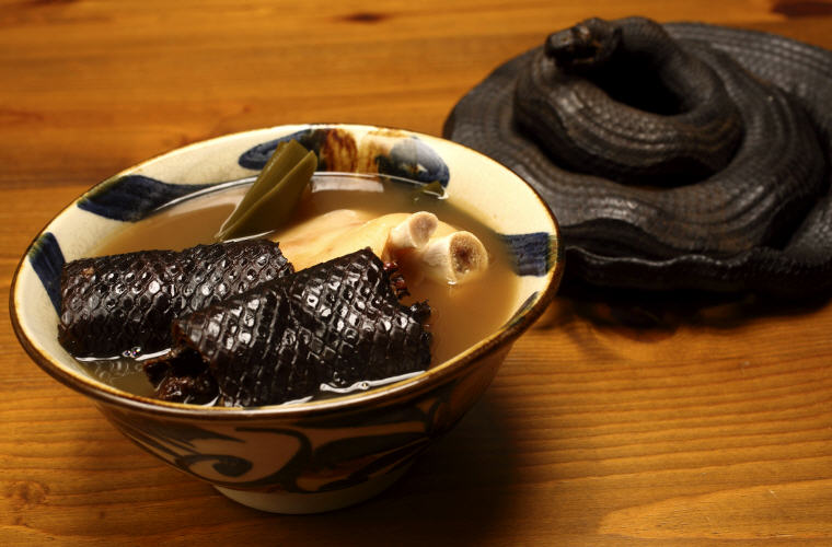 Irabu Soup (Sea-snake Soup)