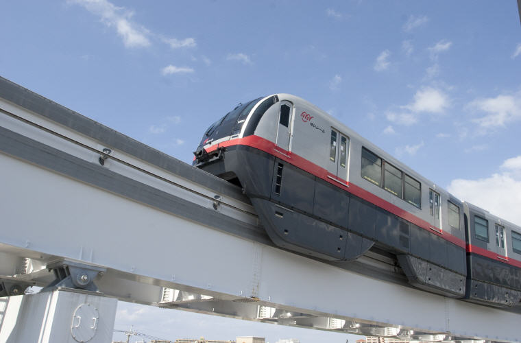 Monorail in Okinawa