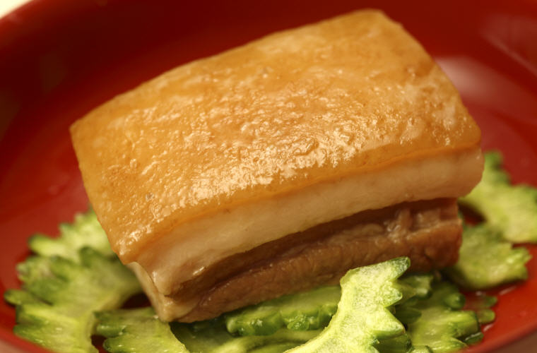 Rafute, Okinawan cuisine