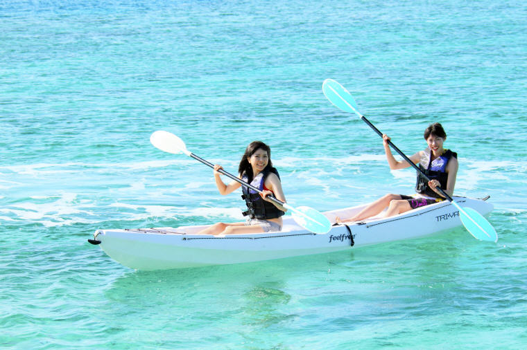 Sea Kayaking, Top things to do in Okinawa