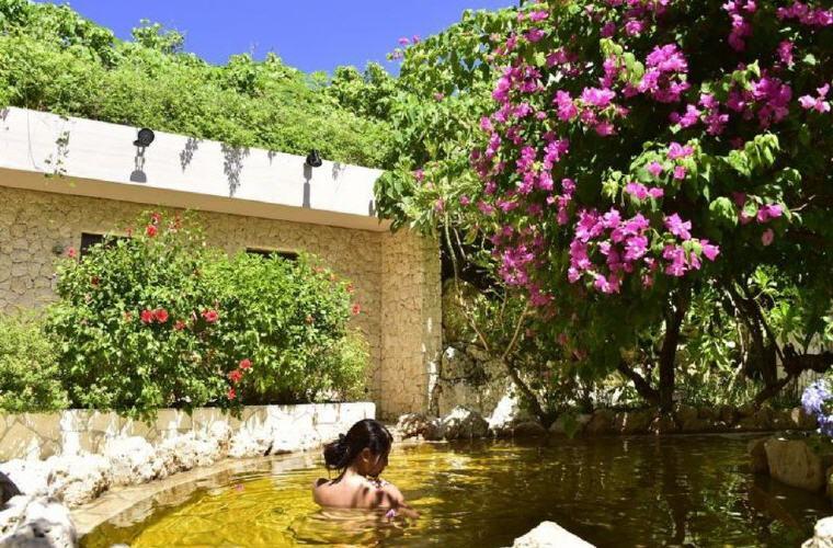 Shigira Ougon Onsen (Natural Hot Spring), Shigira Bayside Suite Allamanda, top things to do in Okinawa