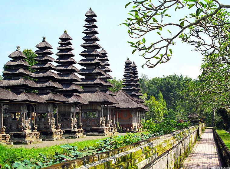 Taman Ayun, Bali, Indonesia, KrisFlyer USD100 Stopover Redemption