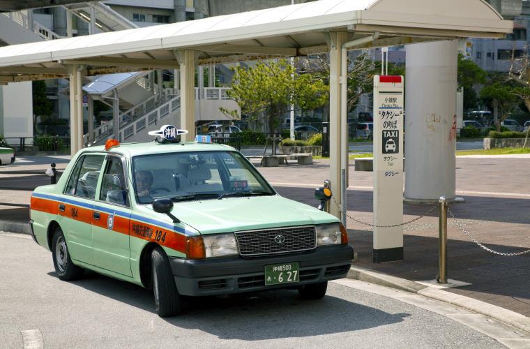 Taxi in Okinawa