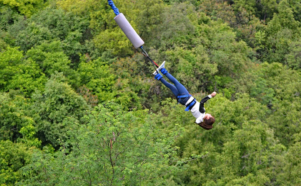 Travel insurance for Bungee Jump, World Nomads