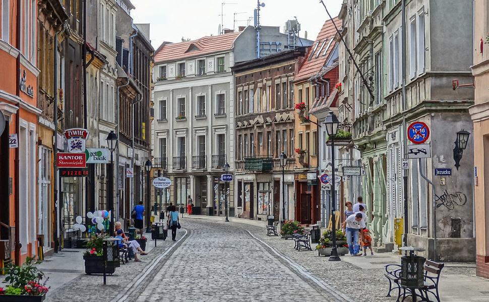 Długa Street, Bydgoszcz, Poland