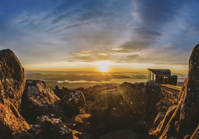 Mount Wellington, Hobart, TAS, Photo credit: Tourism Australia