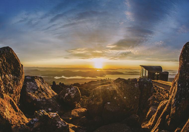 Mount Wellington, Hobart, TAS, Photo credit: Tourism Australia
