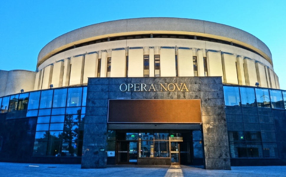 Opera Nova, Bydgoszcz, Poland, Euporean rail travel