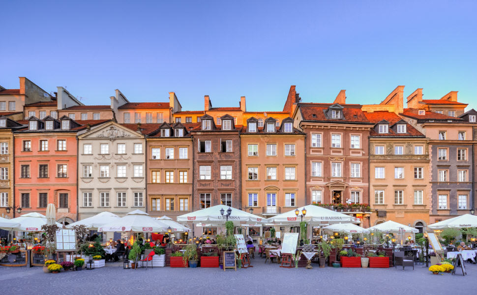 The Old Town, Warsaw, Poland
