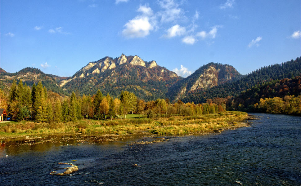 The Three Crowns (Trzy Korony), Pieniny, Poland, Travel by Train in Poland
