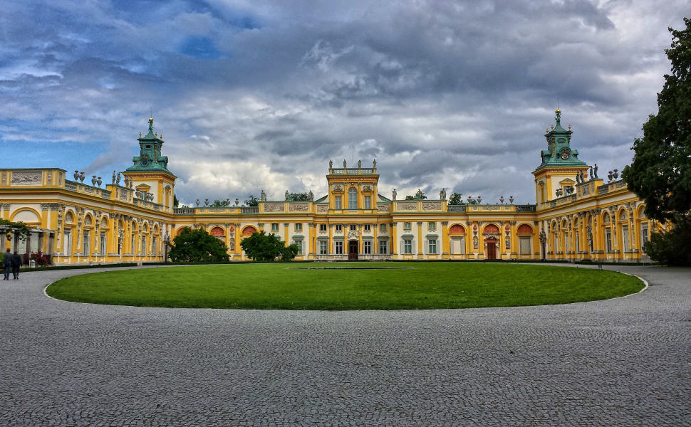 Wilanów Palace, Warsaw, Poland, Train Travel in Poland