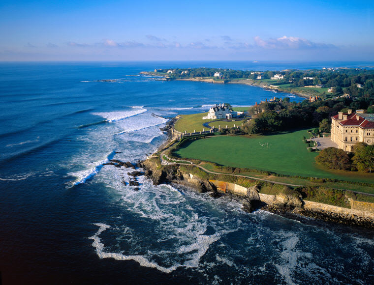 Coastline of Newport, Rhode Island, Credit: Onne van der Wal, America's Top 50 summer vacation destinations this summer