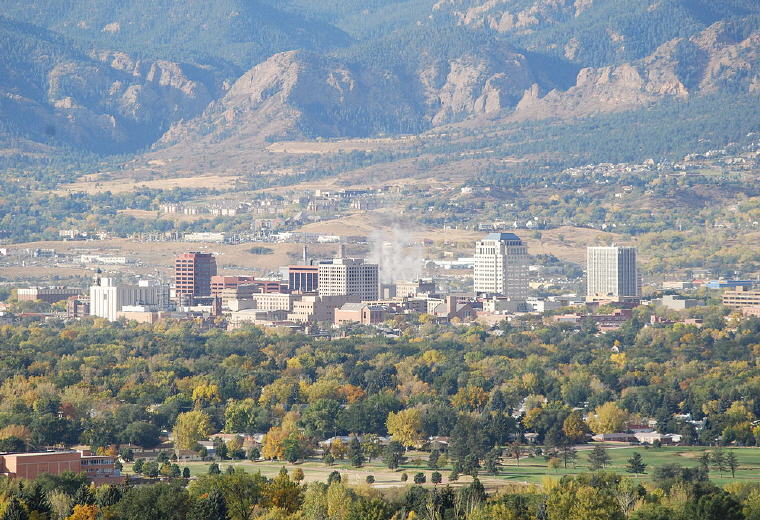 Colorado Springs, Colorado, Credit: Wikipedia, Top domestic summer vacation destinations U.S. 2017