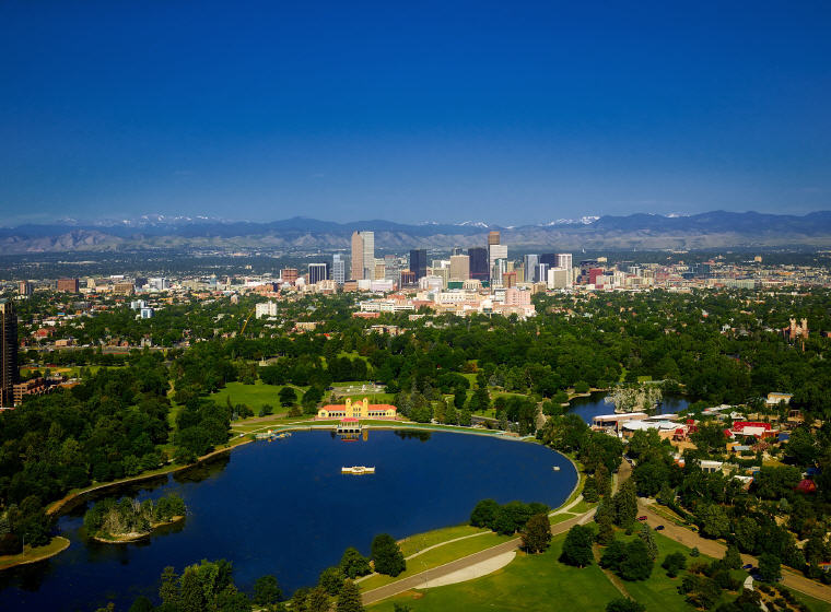 Denver, Colorado, Credit: David Mark, Top domestic summer vacation destinations U.S. 2017
