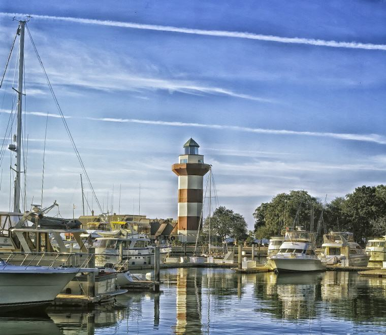 Harbor, Hilton Head, South Carolina, Credit: David Mark, Top domestic summer vacation destinations U.S. 2017