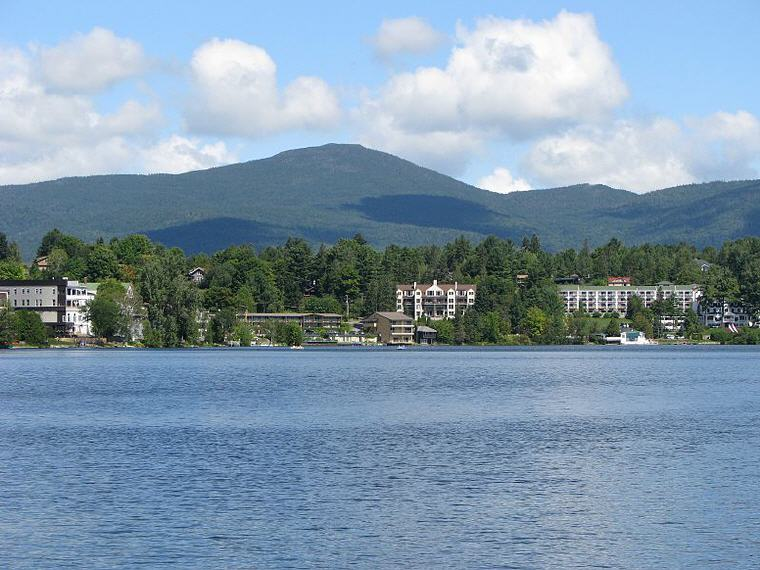 Mirror Lake in Lake Placid, New York, Credit: Wikipedia, Top domestic summer vacation destinations U.S. 2017