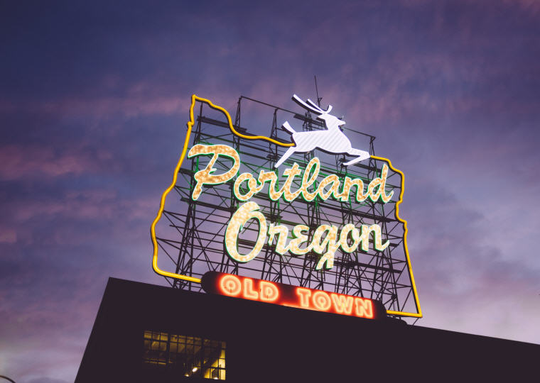 Portland, Oregon, Photo credit: Unsplash, 50 top domestic summer vacation destinations for U.S. travelers